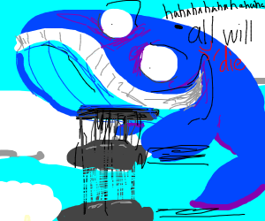 Nuclear bomber whale