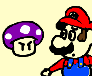 Mushroom murdered Mario and Peach