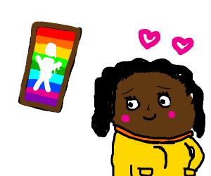 i had crush on art