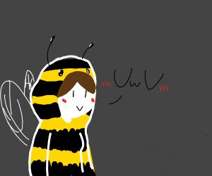 Cute lil bee girl