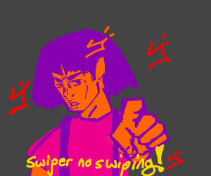 Swiper no Swiping! (The anime)