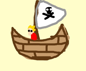 Gold Nugget on a Boat