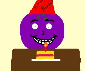 a bowling ball 1st birthday cake
