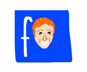 Mark Zuckerberg's face is Facebook