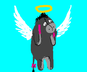 eeyore is an angel