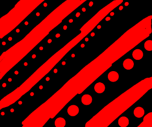 red and black circle patterns :P