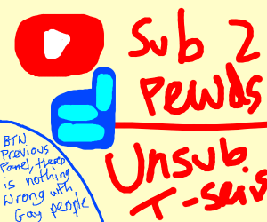 Sub to Pewdiepie unsub from T-Series #T-Gay