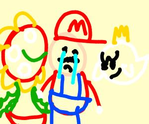 Mario Crying