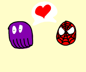 thanos and spiderman going on a date