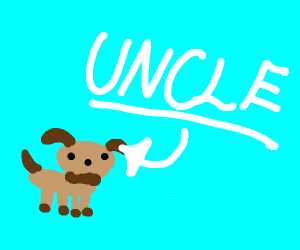 Puppy named Uncle