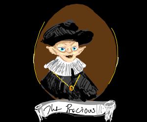 Gollum wearing a Hat