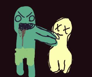 zombie strangles ghost