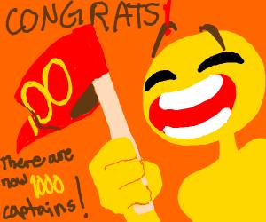 Celebrating 1000 Captains