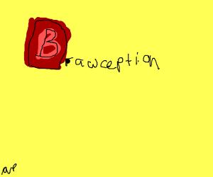 Drawception D but it's a B
