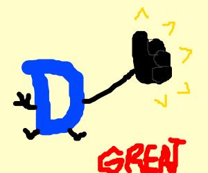 Drawception-D greats you