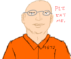 Man wants you to eat him