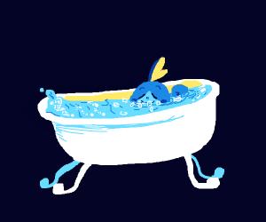 Sobble in a Bubble Bath