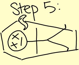 step 5: die