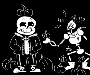 Sans and Papyrus can't wait for halloween