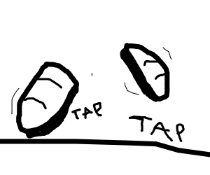 tap shoes tapping
