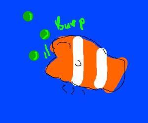 burping nemo