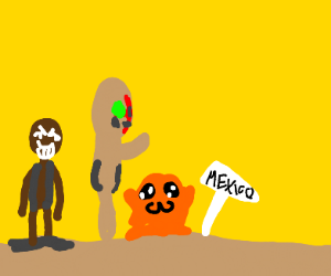 The SCP Gang Visits Mexico