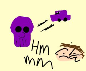 Alex Jones theorizes about Thanos