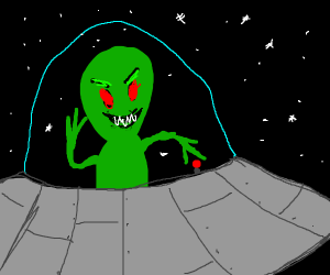 alien from space thats evil