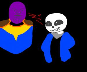 Sans + Thanos