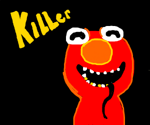 Killer Elmo coming this friday