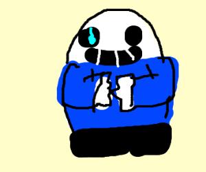 Egg shaped sans