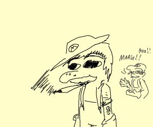 Mario on weed
