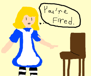 Alice firing Chair