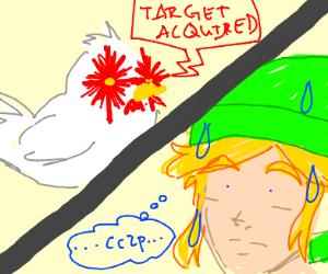 Link angered Cuccos