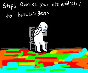 Step 11 hallucinate shrek instead