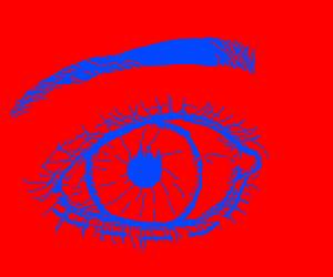 very good retina burn