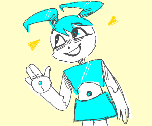 Jenny from My Life as a Teenage Robot