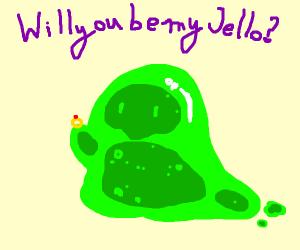 Slime wedding proposal
