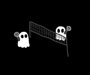 Ghost tennis