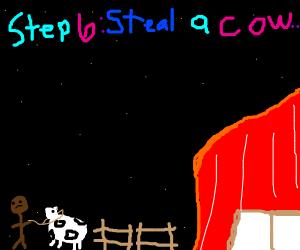Step 5: Meet a Cow Farmer