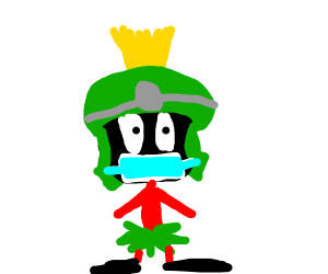 marvin the martian as a doctor