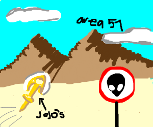 Stand arrows at area 51