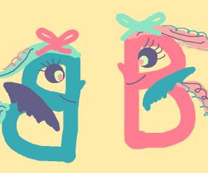 B Shaped MLP characters