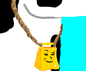 a cow bell thats proud of itself