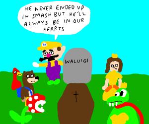 RIP Waluigi, Never got into Smash
