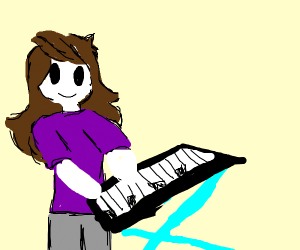 Jaden Animations Playing a keyboard