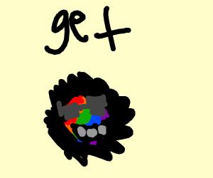 a gay puffle (club penguin)