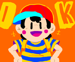 "Ness saying ""OK"""