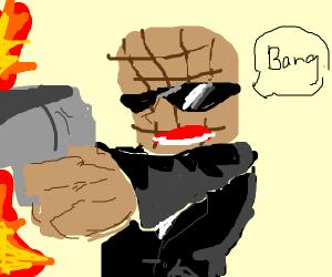 Mafia peanut goes bang!