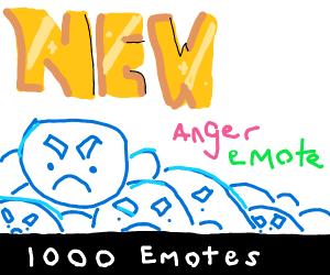 New anger emote?!